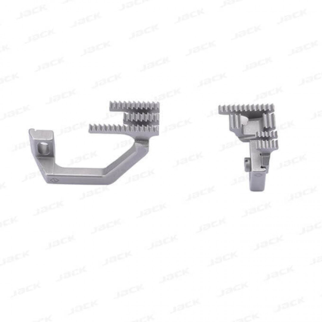 Зубчата рейка 2071401700 для 5-ниткових оверлоків BRUCE BRC X5 / 3216 / B5 з міжголковою відстанню 5 мм